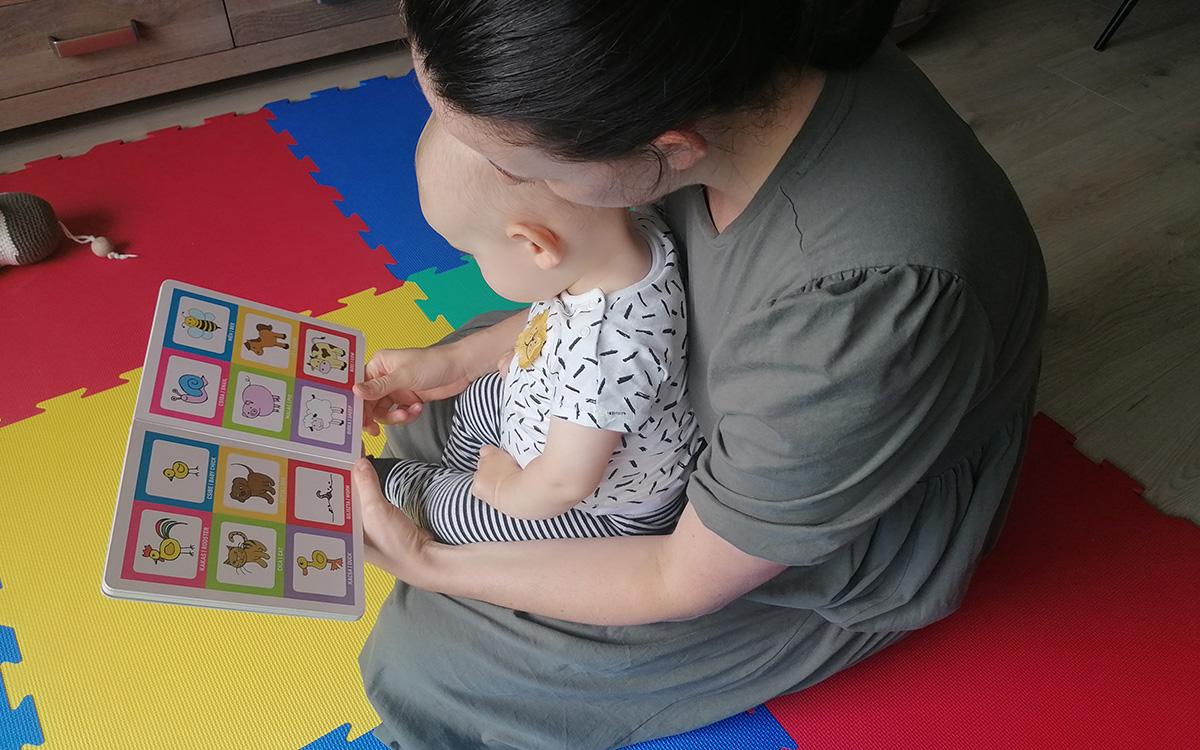 Az egyéves Borisz könyvespolca